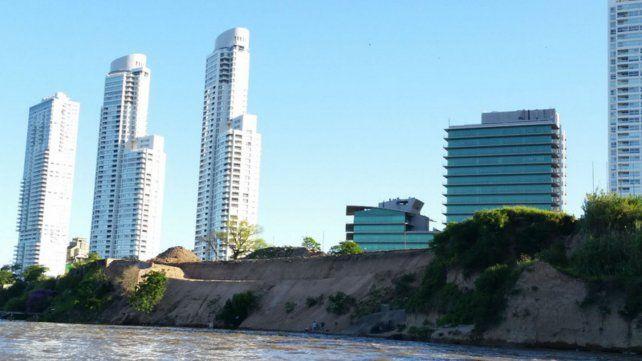 La barranca de Francia y el río