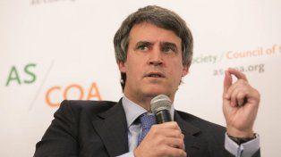 El ministro Alfonso Prat Gay