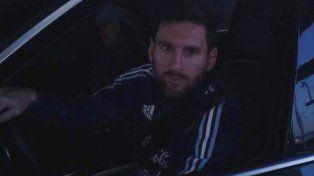 Messi en el peaje