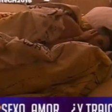 Noche de sexo en Gran Hermano.