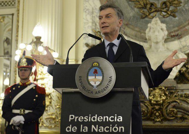 El gobierno ha logrado empezar a reducir la inflación, aseguró el presidente Macri