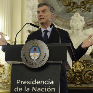 el gobierno ha logrado empezar a reducir la inflacion, aseguro el presidente macri