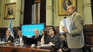 Presentación. Perotti formuló el pedido al titular del Plan Belgrano.