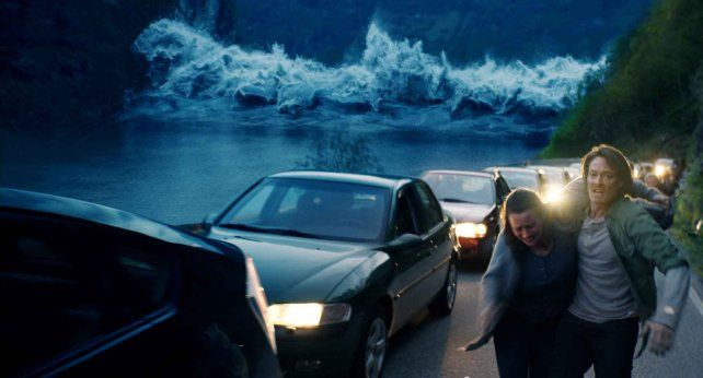 Amenaza probable. La película está inspirada en el posible derrumbe del fiordo de Geiranger