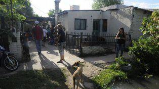 El final. La casa donde vivió y velaron a Sequeira en noviembre pasado.