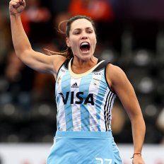 Barrionuevo hizo un gol ante Holanda.
