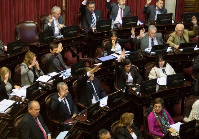 pacto. El megaproyecto obtuvo 56 votos a favor y 11 en contra en el Senado.