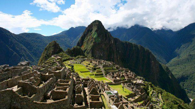 La antigua ciudadela de Machu Picchu