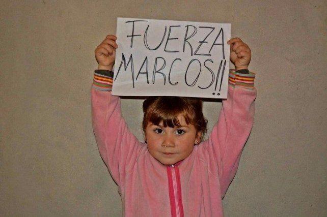 Fuerza Marcos, la campaña de un exjugador de Newells que se viralizó en Facebook