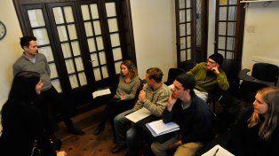 El grupo de estudiantes de EEUU que aprende español en el ámbito de la universidad pública.