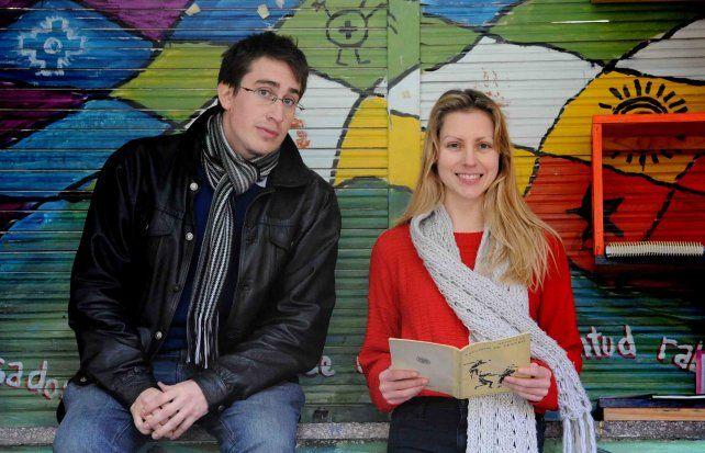Camilo Scaglia y Estefanía Bianco estudian Historia en la Facultad de Humanidades