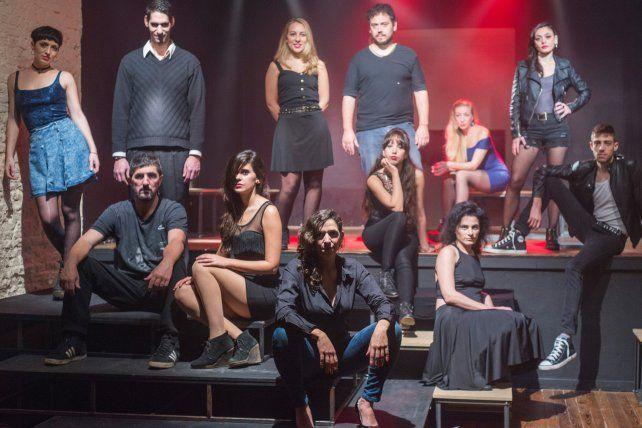 elenco. Catorce monólogos y treinta y dos actores invitados serán parte de la obra que se verá en La Manzana.