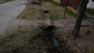 en la zanja. Heliotropo al 2000, donde vivían los hermanos asesinados.
