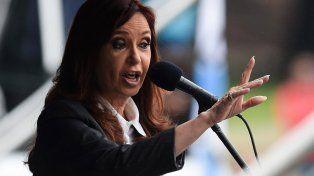 desafiante. Cristina dijo que buscan disciplinar a la dirigencia política. Podrán con algunos