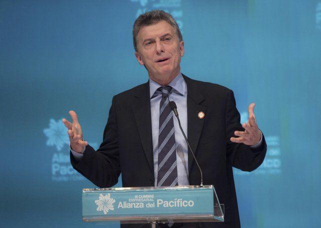 Nuevo rumbo. Macri le dio un fuerte giro a la política exterior del país.