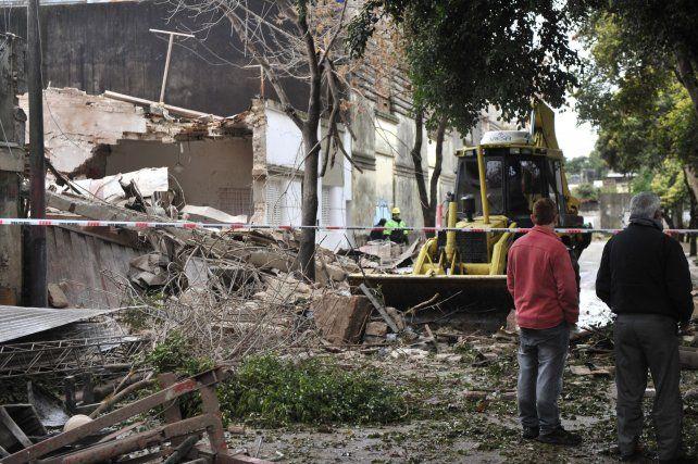 La explosión en el laboratorio causó heridas en cuatro personas.