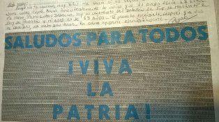 Ayudame escribiéndome, pedía Pedro en una carta de puño y letra hace 34 años en la Isla Malvinas.