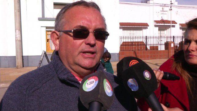 El sacerdote Germán Treuz se mostró muy enojado con la concesionaria de la ruta 36 y ahora será denunciado.