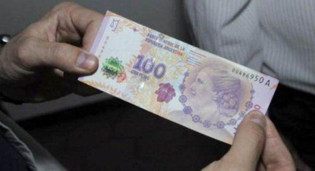 Casi iguales. Los billetes secuestrados eran de muy buena manufactura.