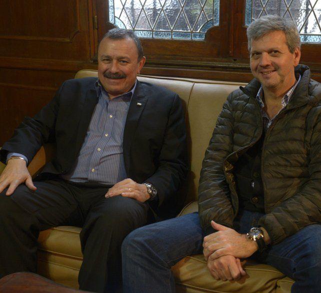 Organizadores. Carlos Cristini y Augusto Saracco