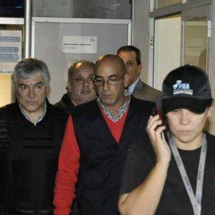 Sorprendido. Báez fue detenido a principios de abril cuando bajó de su avión en el aeropuerto de San Fernando.