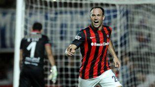 Quiere sus goles. Newells aceleró las gestiones por Mauro Matos