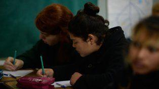 Aviso. El gremio y los profesores dicen que los alumnos pueden perder horas de clases.