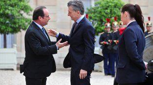Macri se reunió con Hollande para avanzar en un acuerdo comercial entre el Mercosur y la UE