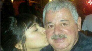 Soledad y su padre Tití Fernández en una foto donde la joven le expresó todo su cariño.