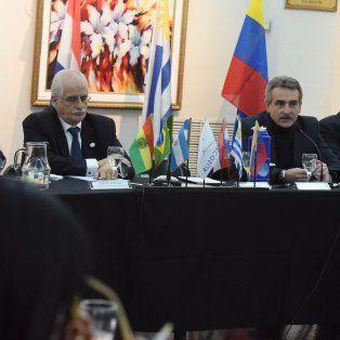 Debate. La comisión de Infraestructura del Parlasur, se reunió en Rosario.