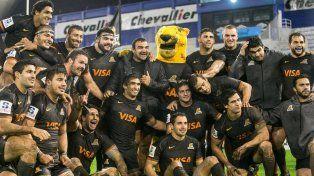 Los Jaguares derrotaron a Bulls de Sudáfrica en Vélez.