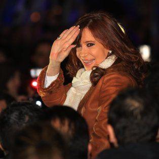 Cristina llegó el sábado a Buenos Aires.