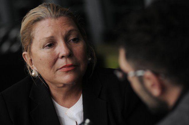 Me harté de los socialistas porque me traicionaron siempre, disparó Lilita Carrió