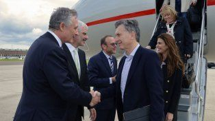 El presidente argentino llegó a Bruselas