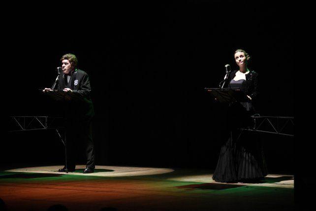 Estrellas del radioteatro. Solá y Cancio componen a Dalmacio y Eloísa