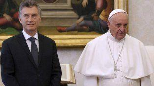 El Papa Francisco se reunirá con Macri.