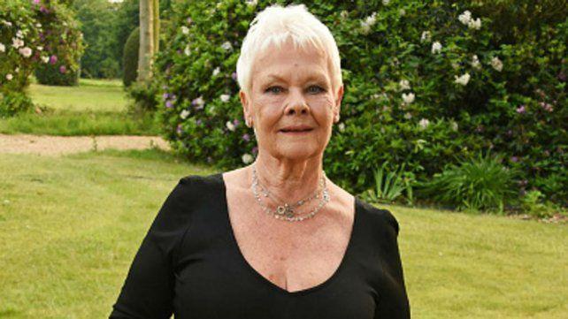 A los 81 años, Judi Dench no para de innovar y se hizo su primer tatuaje con una leyenda  mágica