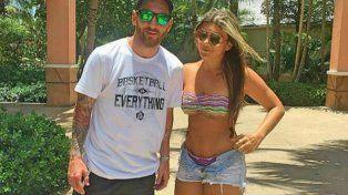 Lionel y Antonella pasan sus vacaciones en el Atlantis Hotel & Casino