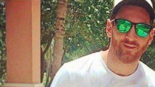 Una falsa remera de Messi con una leyenda sobre los penales alteró las noticias desde Bahamas