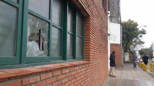 ElClub Macabi en la ciudad de Santa Fe fue blanco de un ataque confuso.