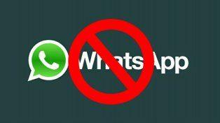 Descubrí los siete motivos por los que WhatsApp te puede cerrar la cuenta