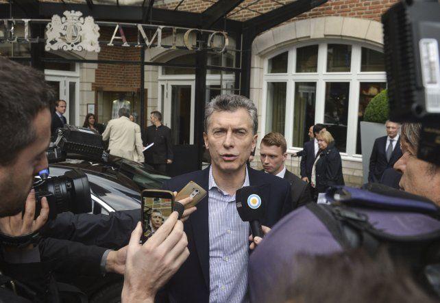 El presidente Mauricio Macri reconoció que debió aclarar antes su aparición en los Panamá Papers.