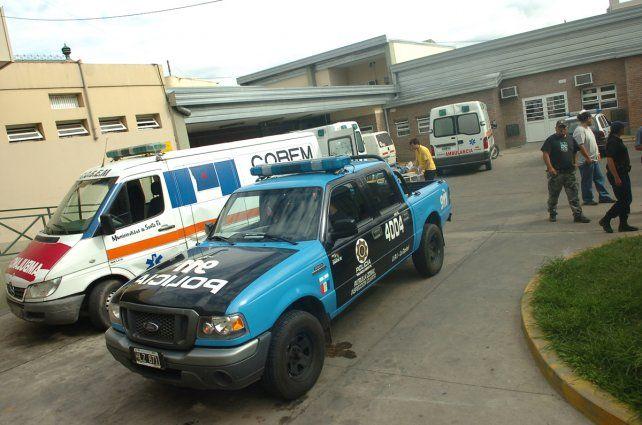 Urgencias. Dos de las víctimas murieron en el Hospital Cullen de Santa Fe.