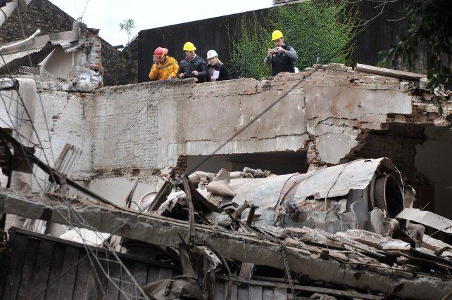 desastre. El lunes de la semana pasada la explosión de una caldera del laboratorio de Alem al 2900 causó severos daños en el barrio y dejó en grave estado de salud a un vecino.