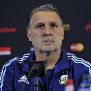 El director técnico Gerardo Martino.