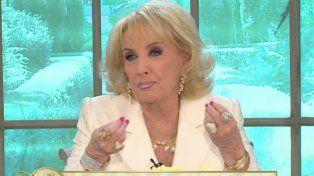 Mirtha Legrand no tuvo drama en opinar del supuesto romance entre Juanita y el Pocho Lavezzi