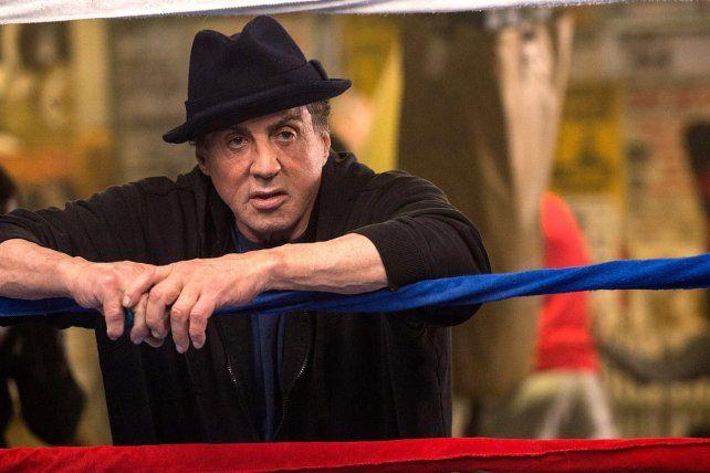 No pudo ser. Stallone fue candidato al Oscar por Creed.