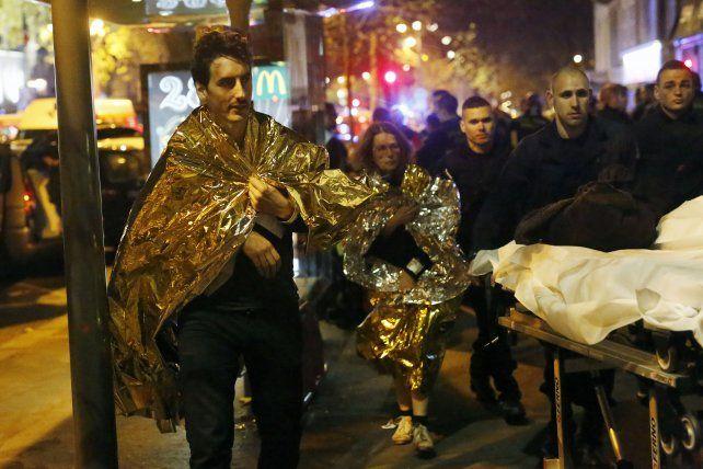 Terror. El 13 de noviembre de 2015 yihadistas atacaron la sala Bataclan.