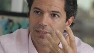 El diputado Luciano Laspina.