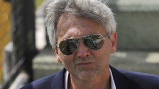 Con bronca. Ricardo Carloni dijo que se cruzó con varios dirigentes en AFA.